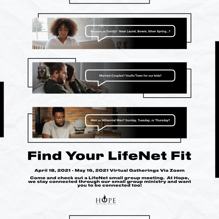 LifeNet Find Your Fit