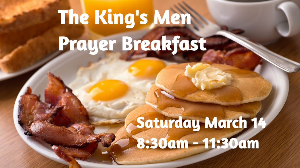 The King's Men Prayer Breakfast